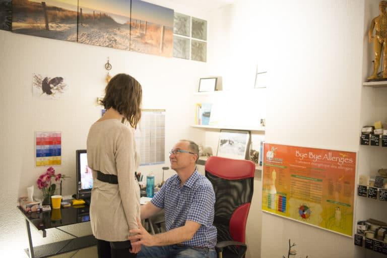 Damien Chevrier Kinésiologue Sion - Kinésiologie, Massages, Traitement des allergies et du stress, Valais - Photo Kinésiologie